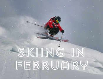 Skiing Colorado in February