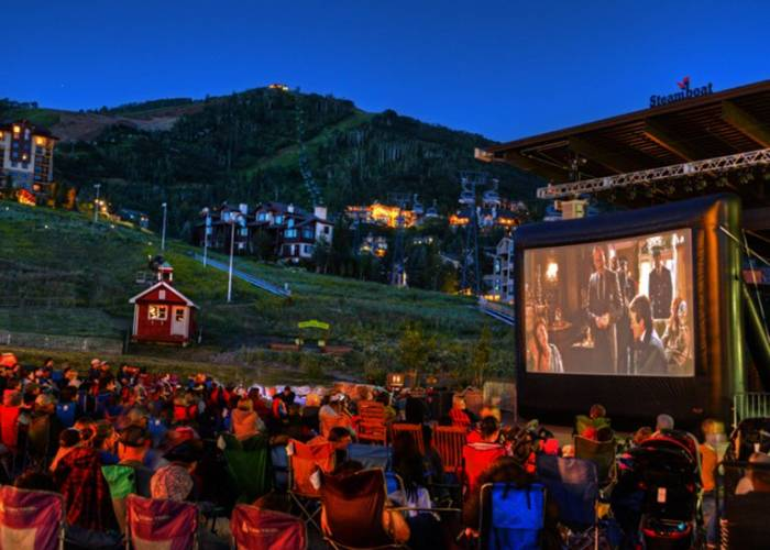 Movies On The Mountain by Steamboat Resort